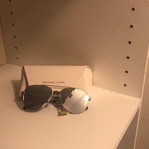 Michael Kors Metallic color glasses